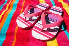 beach baby sandals pink picture and wallpaper