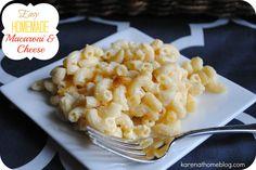 Karen At Home: Easy Homemade Macaroni and Cheese
