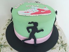 Cake for marathon runner