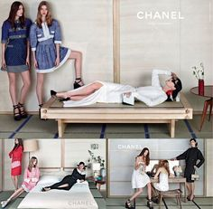 Japanese trend spring 2013 chanel campaign