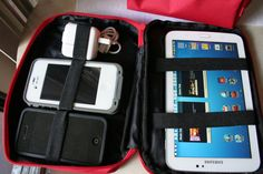 Gadget Organizer by INFLIGHTSTUFF on Etsy, $10.00