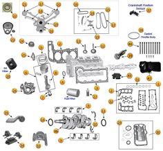 New Venture Gear NV3550 Transmission Parts Jeep Liberty