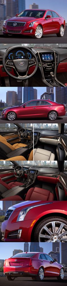 The new Cadillac ATS. I do not have a clear verdict on this new Cadillac. Cadillac Ats, Us Cars, Sport Cars, Fancy Cars, Cool Cars, Mustangs, My Dream Car, Dream Cars, Super Pictures