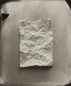 Ben Cauchi, Say Nothing, 2008 (tintype).