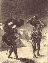 Delacroix's Hamlet lithographs