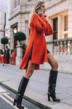 street_style_paris on Poshinsta Fall Winter Outfits, Autumn Winter Fashion, Parisian Style Fashion, Look Rock, Fashion Outfits, Womens Fashion, Fashion Trends, Fashion Styles, Fashion Models