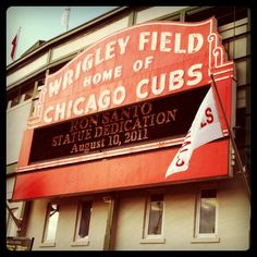 Home of the Chicago Cubs!