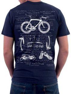 Triathlon T Shirt #Sports T Shirts  http://www.cycologygear.com/shop/i-tri/