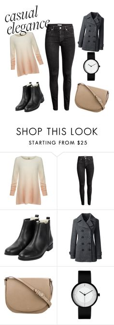 """""""Casual elegance #2"""" by runa-love-clothes ❤ liked on Polyvore featuring Joie, Lands' End and CÉLINE"""