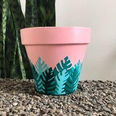 TY For Being a Friend Unique Terra Cotta Succulent & Flower Pot Art, Flower Pot Design, Flower Pot Crafts, Painted Plant Pots, Painted Flower Pots, Painted Pebbles, Decorated Flower Pots, Hand Painted, Diy Vintage