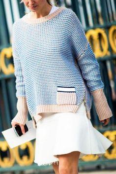 Suknja   džemper: 8 savršenih načina da nosite ovu kombinaciju tokom jeseni