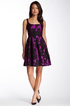 Jill Jill Stuart | Embroidered Floral A-Line Dress | Nordstrom Rack