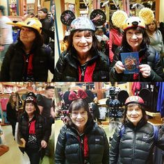 My brother took my mom to Disneyland and they had a lil photoshoot trying on ears! I think it's quite clear where I get my cuteness from  by minesux