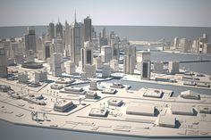 3d city environment
