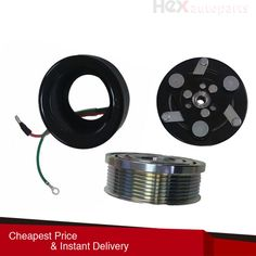 2012-2015 Honda Civic 4 CYL 1.8L AC COMPRESSOR CLUTCH KIT PULLEY COIL FITS