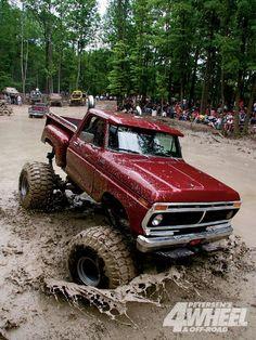 I want to go to a mud bog at some point in my life!
