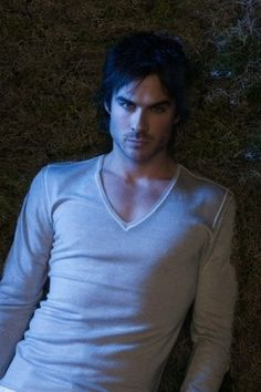 Ian Somerhalder as Damon Salvatore on The Vampire Diaries <3