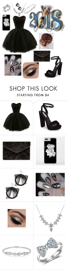 """""""96"""" by andreea-narcisa-obreja on Polyvore featuring Steve Madden, Rebecca Minkoff, Fallon and Luxiro"""