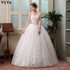 Want' to like a product without buying it, check this one out Free shipping 201... only available on Costbuys http://www.costbuys.com/products/free-shipping-2015-new-princess-wedding-gown-lace-romantic-wedding-dress-fashion-bride-price-under-50-vestidos-de-novia-hs126?utm_campaign=social_autopilot&utm_source=pin&utm_medium=pin