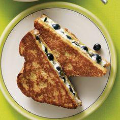 Breakfast: Blueberry-Stuffed French Toast: Self.com : SELF Magazine: fashion…