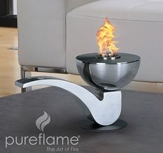 Elegant PureFlame   Pipe Biofuel Table Top Fireplace   PIP001 By PureFlame, Http://