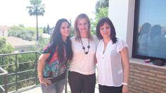 Con mis compañeras   http://blog.anavelazquez.es