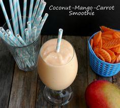 Coconut Mango Carrot Smoothie