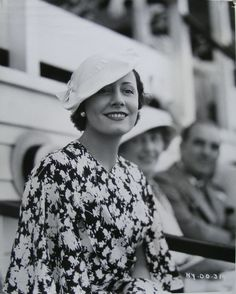 Irene attending a polo match in 1934.