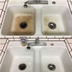 Bar Keepers Friend On Copper And Brass It Will Remove The