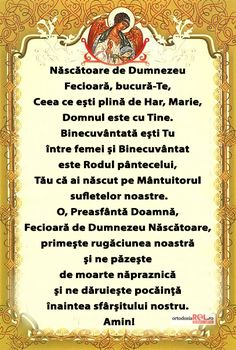 Rugăciune către Născătoarea de Dumnezeu Prayer Board, Orthodox Icons, Design Case, Faith In God, Prayers, Spirituality, Thoughts, Words, Quotes