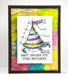 Created by Cheiron using Tim Holtz Exclusives by Simon Says Stamp for STAMPtember