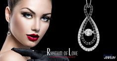 Put a smile on her face this holiday season with a diamond necklace by Rhythm of Love
