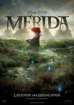 """MERIDA - LEGENDE DER HIGHLANDS  --  """"Mitreißendes, charmantes schottisches Märchen, das mit seiner Geschichte ebenso entzückt wie in der optischen Umsetzung. Keine Spielzeuge, Monster oder Superhelden, sondern Figuren aus dem Märchen bevölkern das (neueste) Pixar-Meisterwerk, das im Untertitel als Legende der Highlands firmiert."""""""