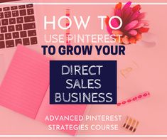 Advanced Pinterest Strategies: Using Pinterest to Grow Your Business Social Marketing, Marketing Strategies, Power Of Social Media, Get More Followers, Pinterest For Business, Direct Sales, Growing Your Business, Pinterest Marketing, Sell On Etsy