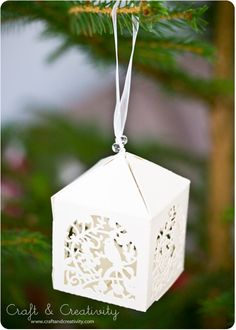 Julpyssel i papper -Christmas paper crafts | Craft & Creativity