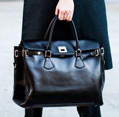 Emmerson Big Black Bag by Emmerson Fry