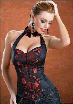 ~Beautiful Orientally Inspired Corset~