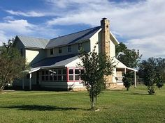 Silverspur+at+Round+Top,+Texas+charming+restored+1800's+Texas+Farmhouse!+++Vacation Rental in Texas Lakes from @homeaway! #vacation #rental #travel #homeaway