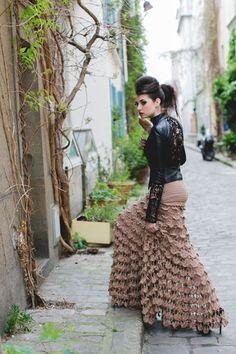 Dovilės Gibavičiūtės-Puišienės kurtų drabužių fotosesija Paryžiuje | Žmonės.lt