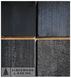 Blackwood and ash Sho Sugi Ban exterior sample set western red cedar Larch Cladding, Log Cabin Designs, Charred Wood, Cedar Siding, Container House Design, Red Cedar, Facade Architecture, Black House, Wood Colors