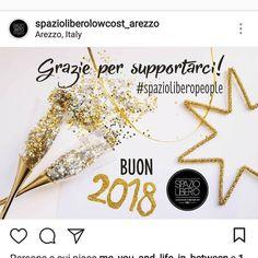 Grazie per supportarci dal 1987  #spazioliberopeople  #WELOVEYOU #weloveyoursupport  #buon2018