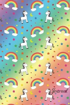 Journal: Rainbow unicorns stars moons notebook by Brother... https://www.amazon.com/dp/1530398622/ref=cm_sw_r_pi_dp_x_mFkbzbJ1BSMQG