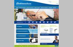 #website #redesign www.elektronabava.si