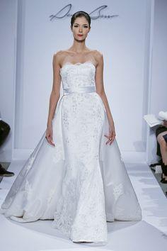 A regal Dennis Basso Bride.