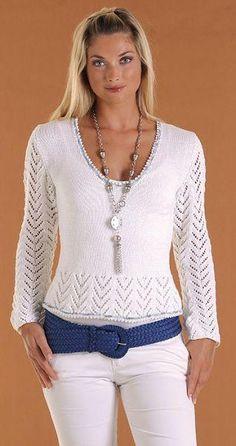 Beyaz-Yazlık-Bluz-Modeli