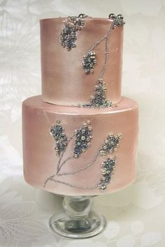 See more about pearl wedding cakes, pink wedding cakes and pearl cake. blush