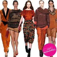 Tons terrosos #tendencia #fashion
