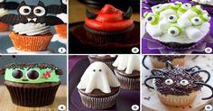 30 of the most original, silliest, spookiest and cutest Halloween cupcakes! Halloween Snacks, Halloween Cupcakes, Holiday Cupcakes, Fete Halloween, Halloween Candy, Holiday Treats, Holiday Recipes, Halloween Breakfast, Halloween 2015