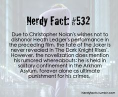 Nerdy fact 532...but...but... wouldn't this kind of allude to Harley Quinn? COZ I REALLY WANT HARLEY QUINN TO BE IN A MOVIE GOSH DARN IT!!!