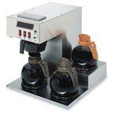 #Coffee Pro Three-Burner Low Profile Institutional Coffee Maker